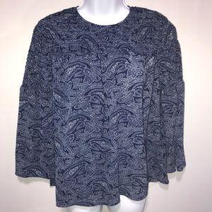 Michael Michael Kors True Navy Basic Shirt SizeXS